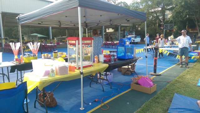 Pullenvale State School Rides Night